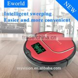 Good quality robot vaccum cleaner with corner brush/self charging carpet mopping sweeping intelligent cleaner M883