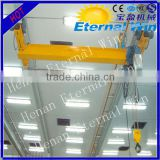 Chinese overhead crane with hoist for sale