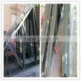 V shape Roof System Galvanized steel Truss