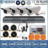 Cheap H.264 4CH DVR NVR CCTV Kit Combo DIY Wireless CCTV Camera System                                                                         Quality Choice