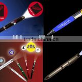 2015 new products advertising led projector pen logo light,promotional pens with projector, projector pen