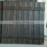 Polyurethane decorative faux wood panels for wall decoration