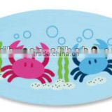 PM2500 Oval Shape Printed Bath Mat