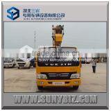 YUEJIN 4x2 diesel operation truck mounted 16m 18m 20m 22m height aeria workingl platform
