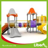 kindergarten outdoor playground,climbing equipment with spiral tube slide,outdoor play games LE.YY.001