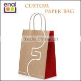 2015 fashionable design wholesale bakery paper bag for packaging