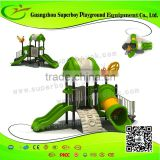Superboy Commercial outdoor play ground equipment 2-10C