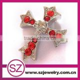 2013 G53 newest rhinestone crystal cross pendant wholesale