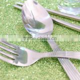 Hot sale high quality stainless steel travel cutlery set