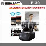 KINGBEST WiFi Wireless Mjpeg Mini IP Camera / P2P function / Indoor IP Camera / baby monitor