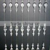 crystal glass drops for chandelier curtain,crystal crafts curtain,curtain