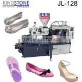 PVC Full Plastic Shoe Machine PVC Rotary Injection Mould Machine For Making PVC Jelly Shoes JL-128