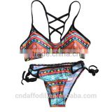Best sale Sexy swimwear for Women Push Up Padded Top Swimsuit Bathing Suit sublimation New style Bikinis swimwear