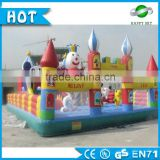 Attractive inflatable amusement park for kids,inflatable amusement park toys, inflatable slide for amusement park