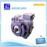Hydraulic axial variable plunger pump