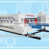 [RD-A1200-2400-3] Automatic corrugated box die cut machine with 3 color printing slotting for corrugated carton making
