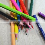 "7"" standard size hexagonal shape high quality 3.0mm color lead artist grade coloured pencil"