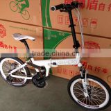 folding bike/foldable bicycle with aluminum wheel rim/20 inch folding bicycle