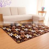 2015 New Product Thin Flower Shape Rug