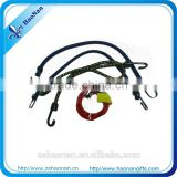 New arrival 2015 elastic key chain bungee cord lanyard with plastic hook