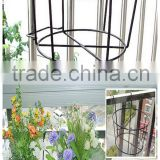 Wrought iron pergola, metal pergola, wrought iron flower shelf