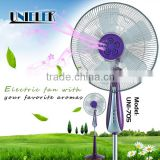 UNIELEK AC aroma scent breeze air freshen duct fan mounting eletric powered pedestal fan price