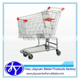 Zinc Plated Surface Handling and Steel Material supermarket baby seat trolley