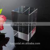 blank glass ornaments raw crystal glass block from block crystal company