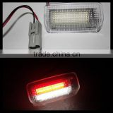 18smd red & white led courtesy light welcome light for toyota camry crown land cruiser prius mark x