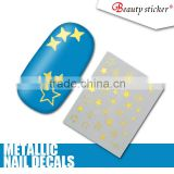 beauty stickerElegant and fashion style 3d nail stickers, nail wraps from 3d nail art supplies