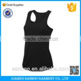 Cheap Good Quality Custom Blank Gym Sport Women Top Fitness Cotton Ladies Tank Top Women Plus Size XXL Black 9 Colors