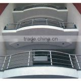 aluminum balcony railing designs /balcony stainless steel railing designs /stair railing building material
