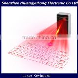 Shenzhen Mini Wireless Keyboard For Pad/PC/Cell Phone Virtual Bluetooth Keyboard With Spearker
