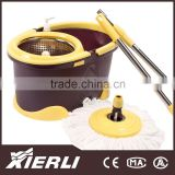 automatic mop trolley double wringer mop bucket floor cleaning mop