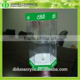DDC-C025 Trade Assurance Chinese Factory Wholesale SGS Test Rotating Glass Display Cabinet