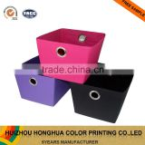 Non Woven Fabric Storage Box Cardboard Packaging Box for Accessory