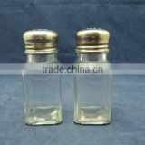 cheap china factory salt pepper shakers, mini salt bottles