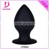 New Arrival Enormous 5 inches Silicone Drop Anal Butt Plug with Suction Cup,Anal Sex Doll Sex Toy for Man