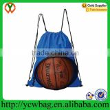 High quality mesh waterproof drawstring basketball backpack