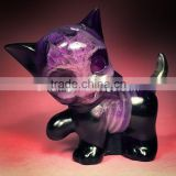 High Quality Plastic Action Figures Of resin For Craft Toys purple pussy