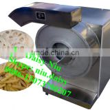 automatic fresh potato cutting machine/sweet potato slicing machine/spiral potato chips machine