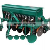 New seeding machine tractor mounted 10 rows wheat drill with fertilizer