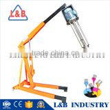 Industrial Paint Dissolver Mixer Homogenizer with lifting stand