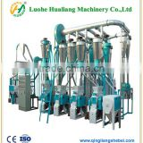 complete processing line wheat /corn flour milling machine/machinery with price