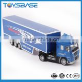 Customized Logo OEM Designed 1/50 22.5 11.75 Alloy Toys Wheels Tanker Container Metal Diecast Truck Model