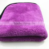"1000gsm 16""x16"" Microfiber Car Cleaning Towels Ultra Thick Buffing Cloths Absorbent Car Drying Polish Auto Detailing Towel"