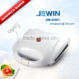 White grill panel sandwich maker with CE/GS/EMC certificate