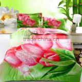 Chinese factory digital print Bamboo bed linen