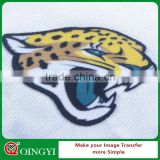 Qingyi flock heat resistant sticker paper for clothing