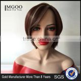 Wholesale Machibe Made Wigs Straight Short Bob Lace Front Wig Bob Style Natural Scalp Wig For Black Women